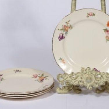 Arabia Kesäkukka lautaset, 4 kpl, suunnittelija ,