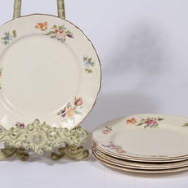 Arabia Kesäkukka lautaset, 6 kpl, suunnittelija ,
