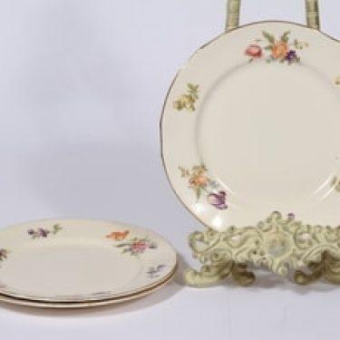 Arabia Kesäkukka lautaset, 3 kpl, suunnittelija ,