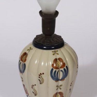 Arabia ARA lampunjalka, käsinmaalattu, suunnittelija , käsinmaalattu