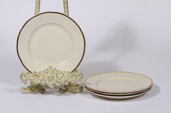 Arabia Kultakoriste leivoslautaset, 4 kpl, suunnittelija , kultakoriste