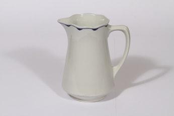 Arabia Pekka kaadin, 1 l, suunnittelija , 1 l, siirtokuva, kukka-aihe