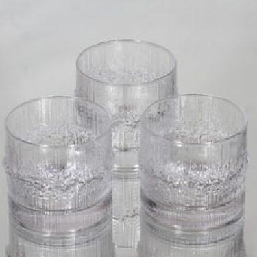 Iittala Niva lasit, 16 cl, 3 kpl, suunnittelija Tapio Wirkkala, 16 cl
