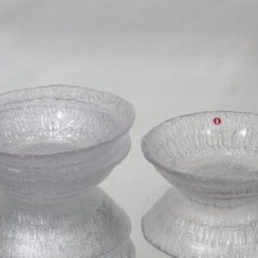 Iittala Solaris lautaset, syvä, 4 kpl, suunnittelija Tapio Wirkkala, syvä