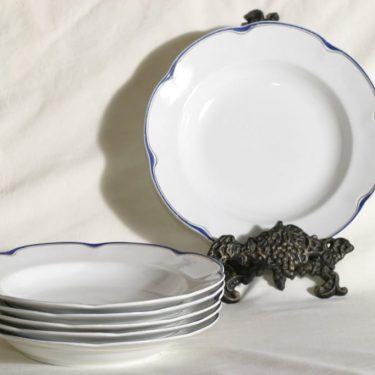 Arabia Pekka lautaset, syvä, 6 kpl, suunnittelija , syvä