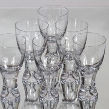 Iittala Tapio lasit, 20 cl, 6 kpl, suunnittelija Tapio Wirkkala, 20 cl
