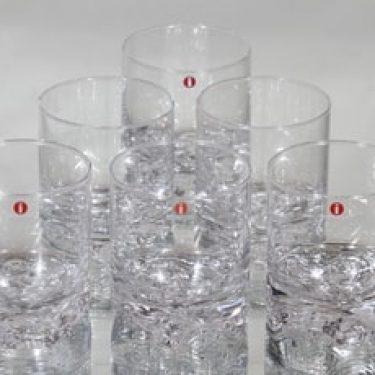 Iittala Gaissa lasit, 20 cl, 6 kpl, suunnittelija tapio Wirkkala, 20 cl