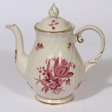 Arabia Regina teekaadin, 1 l, suunnittelija , 1 l, serikuva, kukka-aihe