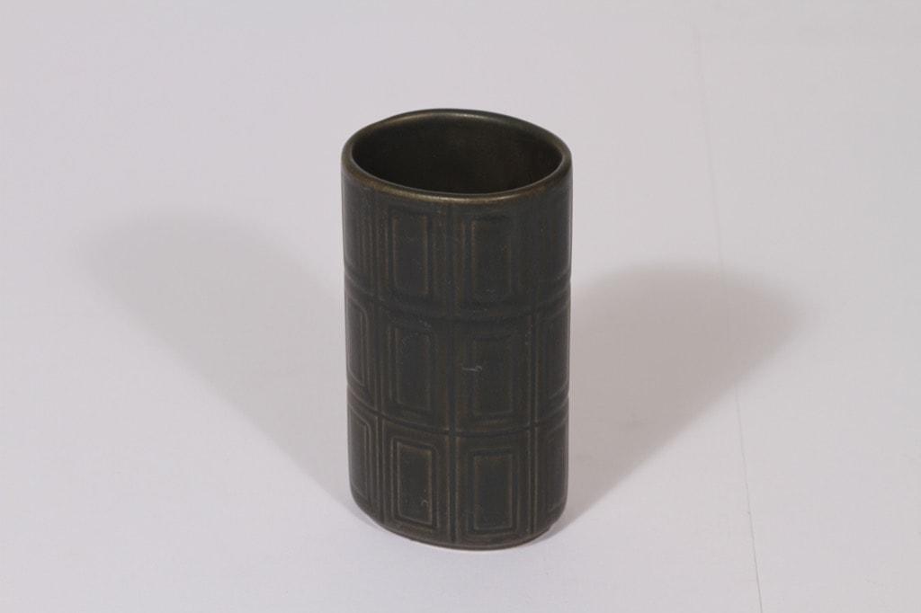 Arabia 400 vase, brown glaze, Göran Bäck
