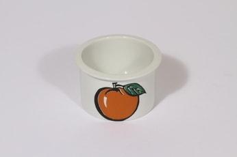 Arabia Tutti Frutti purnukka, suunnittelija , pieni, serikuva, omena