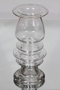Riihimäen lasi Tornado maljakko, signeerattu, suunnittelija Tamara Aladin, signeerattu, suuri