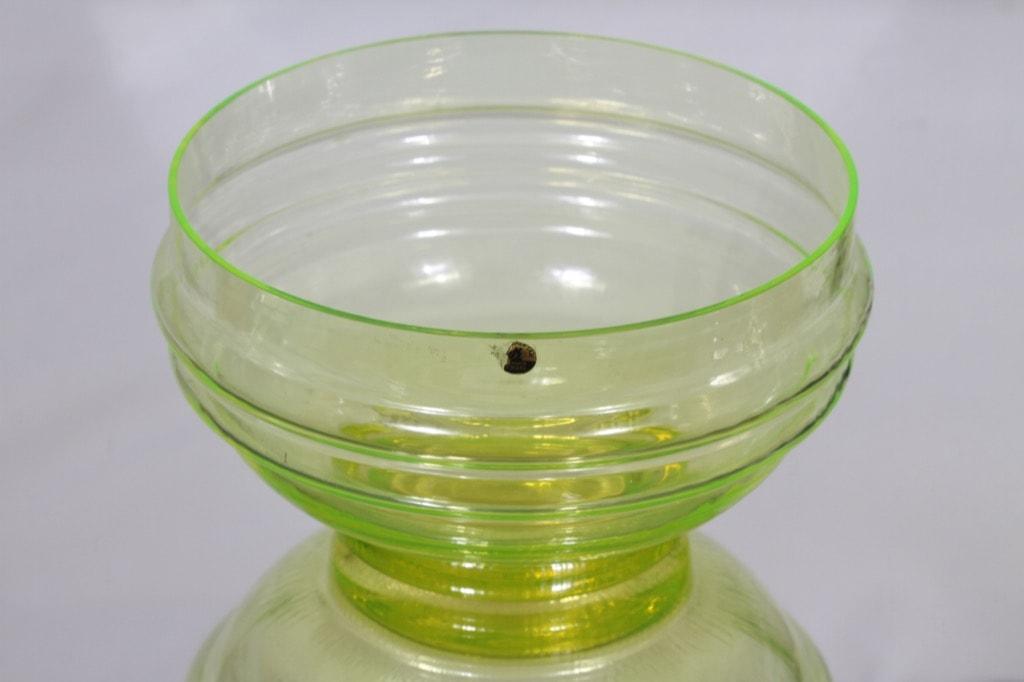 Riihimäen lasi Sulttaani kulho, keltainen, suunnittelija Nanny Still,