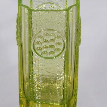 Riihimäen lasi Rondella maljakko, keltainen, suunnittelija Tamara Aladin, massiivinen kuva 2