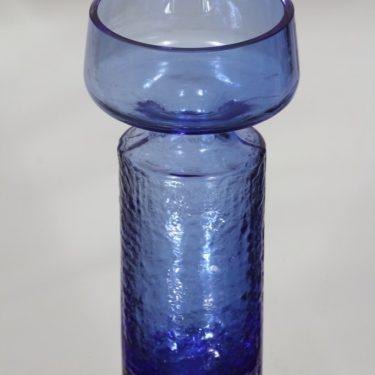 Riihimäen lasi Safari maljakko, sininen, suunnittelija Tamara Aladin,  kuva 2