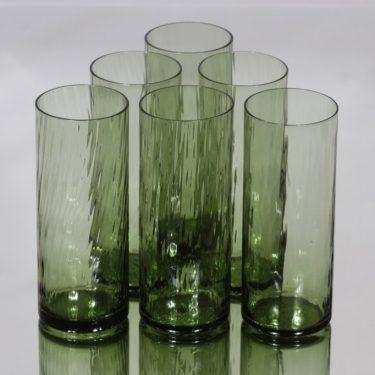 Riihimäen lasi Neptuna lasit, 28 cl, 6 kpl, suunnittelija Nanny Still, 28 cl