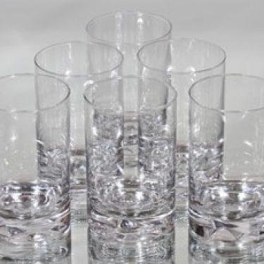 Iittala Jäänsärkijä lasit, 20 cl, 6 kpl, suunnittelija Tapio Wirkkala, 20 cl