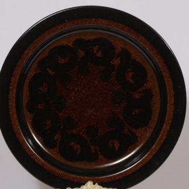 Arabia Soraya vati, käsinmaalattu, suunnittelija Gunvor Olin-Grönqvist, käsinmaalattu, pyöreä, retro