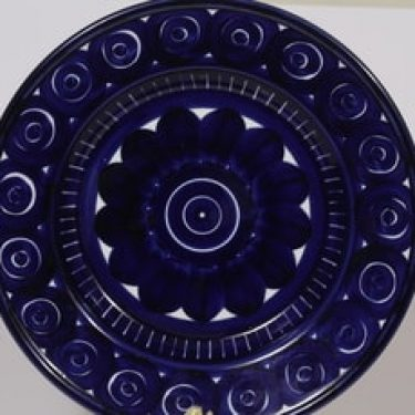 Arabia Valencia hedelmävat, käsinmaalattu, suunnittelija Ulla Procope, käsinmaalattu, suuri, syvä, signeerattu