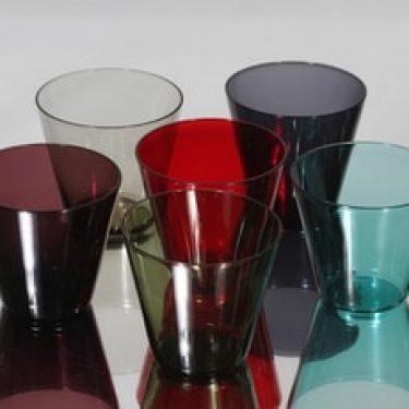 Nuutajärvi Kartio lasit, 15 cl, 6 kpl, suunnittelija Kaj Franck, 15 cl