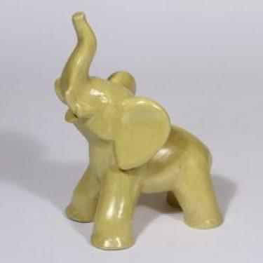 Kupittaan savi 359 III eläinfiguuri, norsu, suunnittelija Kerttu Suvanto-Vaajakallio, norsu, suuri