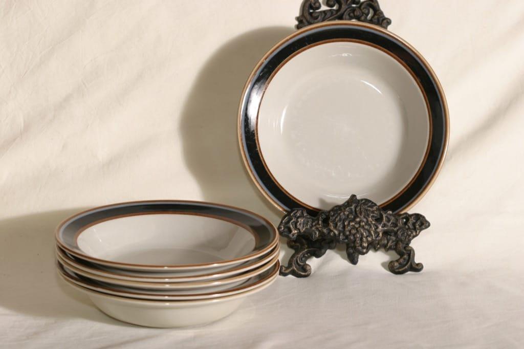 Arabia Taika soup plates, 6 pcs, designer Inkeri Seppälä
