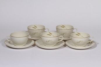 Arabia Tähkä teekupit, 5 kpl, suunnittelija , serikuva