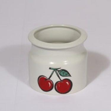 Arabia Tutti Frutti purnukka, kirsikka, suunnittelija , kirsikka, serikuva, pop art