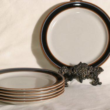 Arabia Taika lautaset, 6 kpl, suunnittelija Inkeri Seppälä,