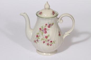 Arabia Inga-Liisa kahvikaadin, 1 l, suunnittelija , 1 l, siirtokuva, kukka-aihe
