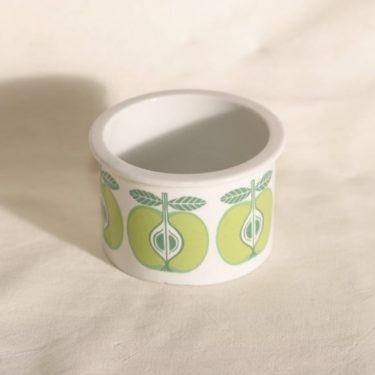 Arabia Pomona purnukka, omena, suunnittelija Raija Uosikkinen, omena