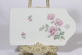 Arabia kukkakuvio talouslevy, suunnittelija , siirtokuva, kukka-aihe