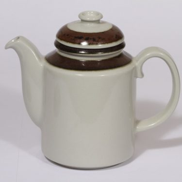Arabia Karelia coffee pot, 1 l, designer Anja Jaatinen-Winquist, stripe decoration