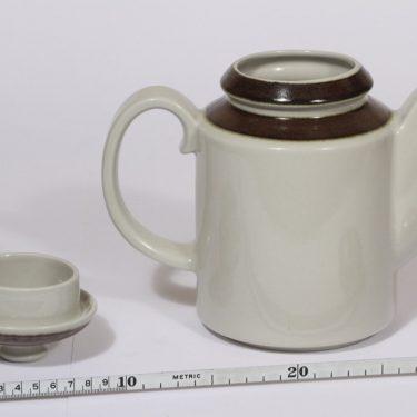 Arabia Karelia kahvikaadin, 1 l, suunnittelija Anja Jaatinen-Winquist, 1 l, raitakoriste kuva 2