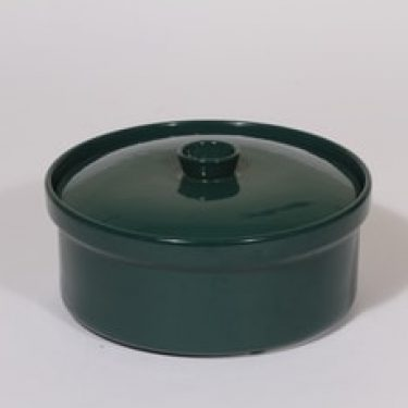 Arabia Kilta vuoka, vihreä, suunnittelija Kaj Franck,