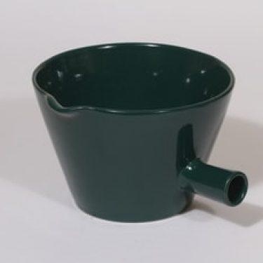Arabia Kilta kulppi, vihreä, suunnittelija Kaj Franck, suuri
