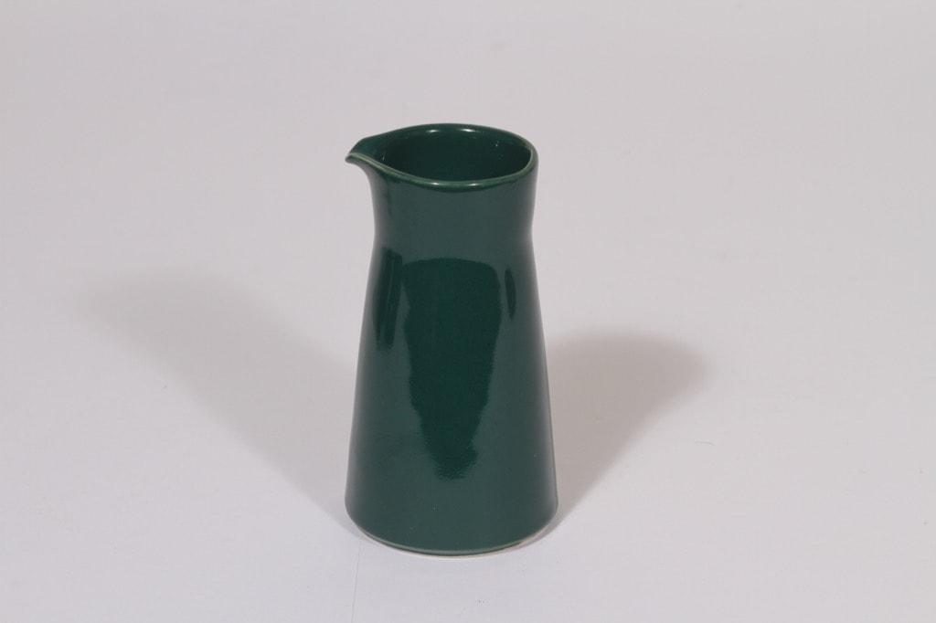 Arabia Kilta kermapullo, vihreä, suunnittelija Kaj Franck,