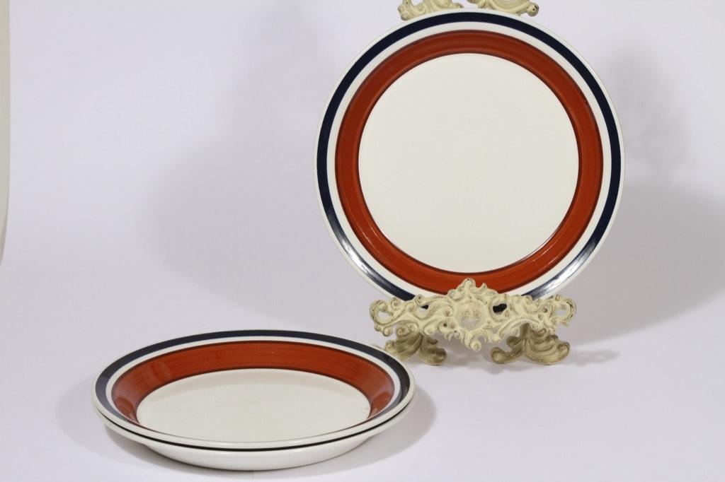 Arabia Unikko lautaset, syvä, 3 kpl, suunnittelija , syvä, käsinmaalattu