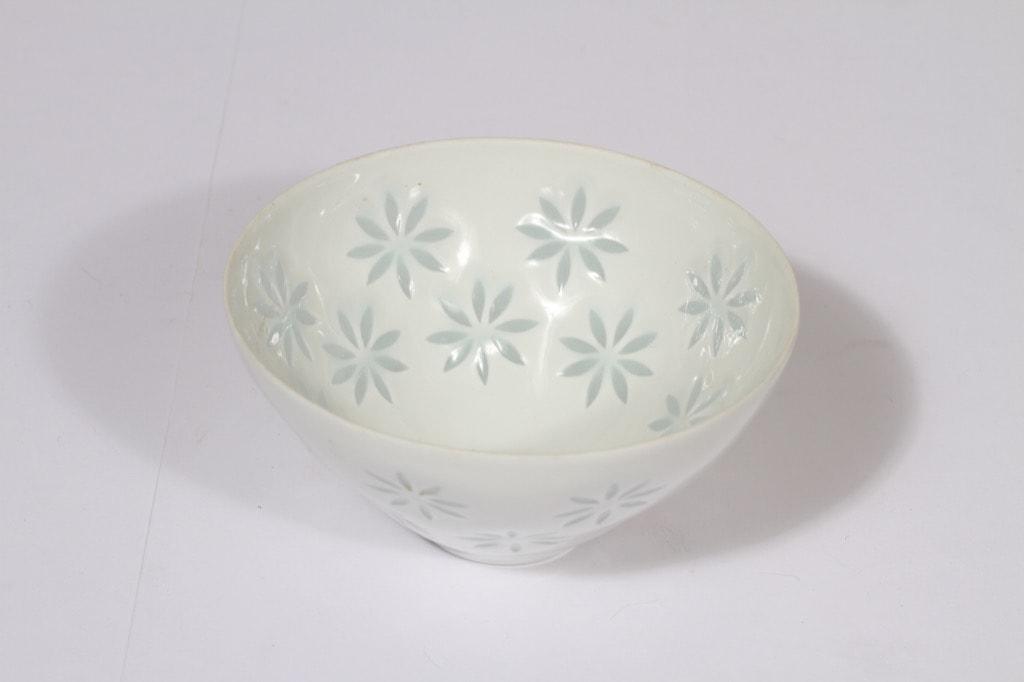 Arabia FK bowl, porcelain, designer Friedl Holzer-Kjellberg, small, mass signed