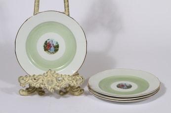 Arabia Romantica lautaset, 4 kpl, suunnittelija , pieni