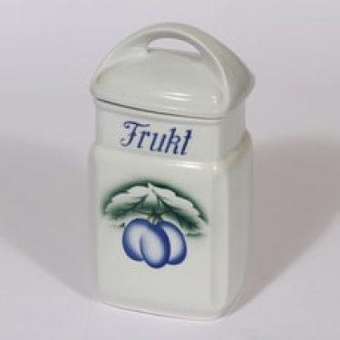 Arabia Luumu hedelmäpurkki, suunnittelija , puhalluskoriste