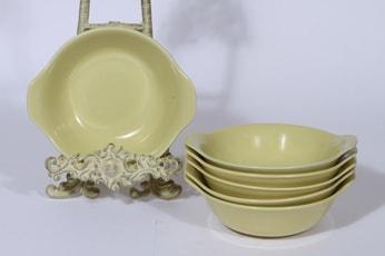 Arabia Kilta lautaset, syvä, 6 kpl, suunnittelija Kaj Franck, syvä