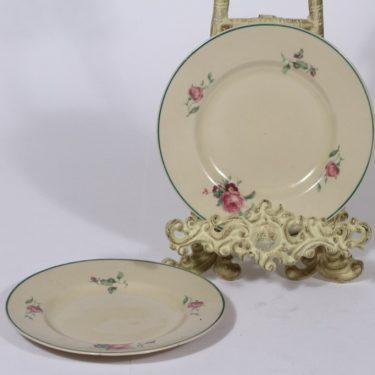 Arabia lautaset, 2 kpl, suunnittelija , pieni, siirtokuva