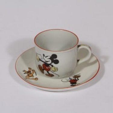 Arabia Mikki Hiiri lasten kahvikuppi, suunnittelija , pieni, siirtokuva