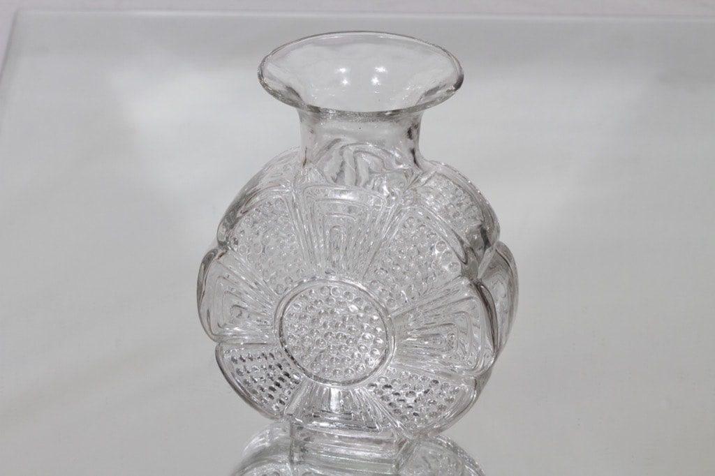 Riihimäen lasi Amuletti maljakko, kirkas, suunnittelija Tamara Aladin,