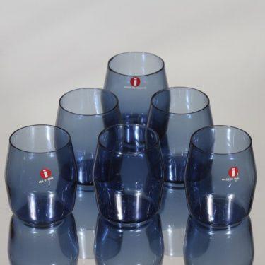 Iittala i-103 snapsilasit, 6 cl, 6 kpl, suunnittelija Timo Sarpaneva, 6 cl, i-väri