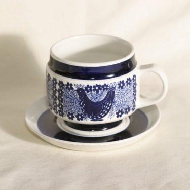 Arabia Sinilintu kahvimuki, suunnittelija Raija Uosikkinen,