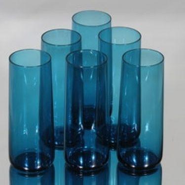 Riihimäen lasi Harlekiini mehulasit, 30 cl, 6 kpl, suunnittelija Nanny Still, 30 cl
