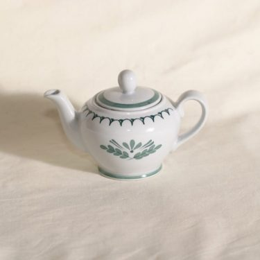 Arabia Green Thistle tea jug, 25 cl, Olga Osol