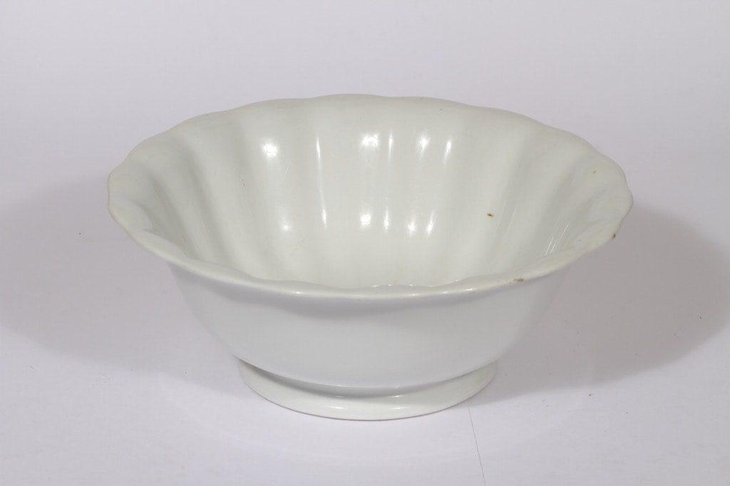 Arabia bowl, white, big