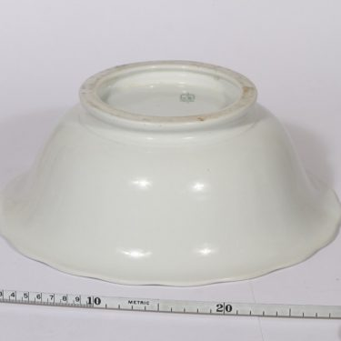 Arabia bowl, white, big, 2